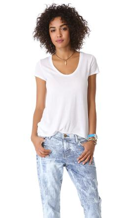 Very Light Jersey Tee by Splendid in Laggies