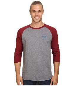 Wheeler 3/4 Sleeve Tee Shirt by Brixton in The D Train