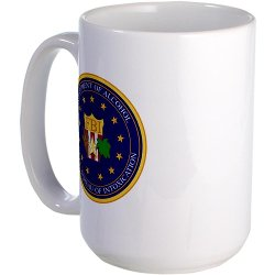 FBI Large Mug Large Mug by CafePress in Hot Pursuit