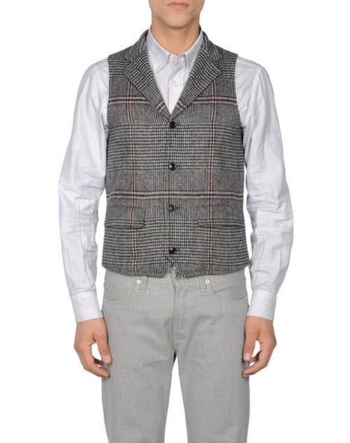 Plaid Vest by TS(S) in The Blacklist - Season 3 Episode 15