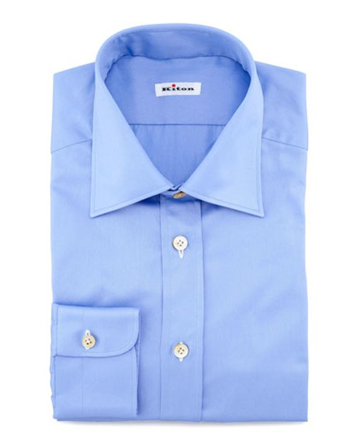 Solid Basic Dress Shirt by Kiton in The Loft