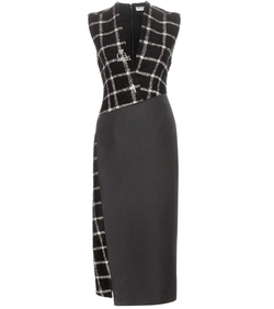 Embellished Check Dress by Balenciaga in Suits
