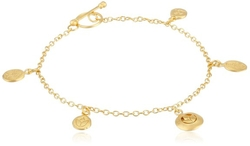 lassics Gold-Plated Charm Bracelet by Satya Jewelry in Jem and the Holograms