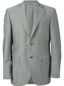 Two Piece Suit by Canali in Black Mass
