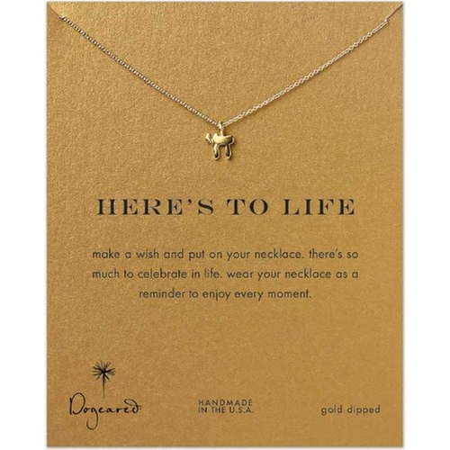 Here's to Life Chai Necklace by Dogeared in Me and Earl and the Dying Girl