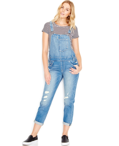 Distressed Denim Overalls by Levi's in Animal Kingdom - Season 1 Episode 6