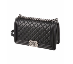 Medium Boy Bag by Chanel in Power