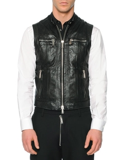 Leather Moto Vest by Dsquared2  in xXx: Return of Xander Cage