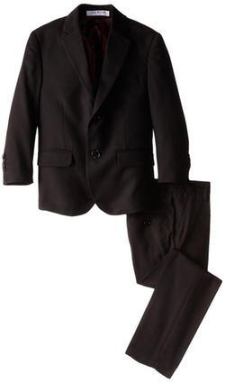 Slim Cut Wool Blend Suit by Isaac Mizrahi in American Horror Story