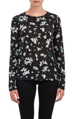 Slub Jersey Long-Sleeve T-Shirt by Proenza Schouler in Steve Jobs