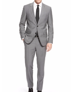The James/Sharp Italian Virgin Wool Suit by Boss in War Dogs