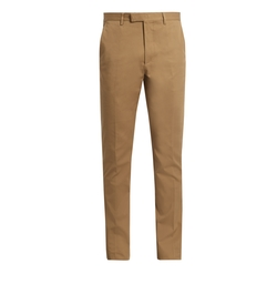Gabardine Chino Trousers by Gucci in Master of None