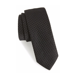 Stripe & Dot Textured Tie by Boss in Billions