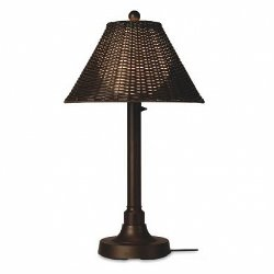 Bronze Tube Table Lamp by Patio Living Concepts in The Gunman