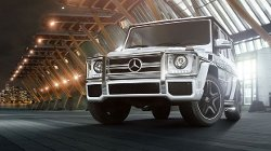 G63 AMG SUV by Mercedez-Benz in Jurassic World