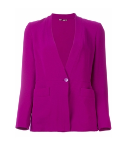 Stand Up Collar Blazer by Etro in The Neon Demon