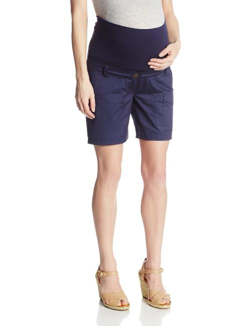 Women's Maternity Twill Shorts by JoJo Maman Bebe in And So It Goes