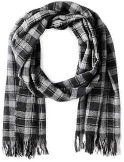 Men's Check Scarf by John Varvatos Star U.S.A in Bridge of Spies