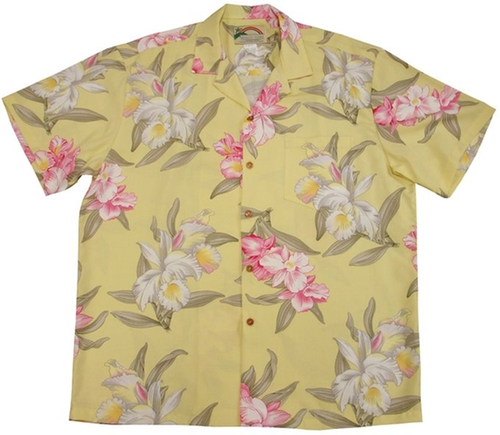 Orchid Corsage Shirt by Paradise Found in Ballers - Season 1 Episode 3