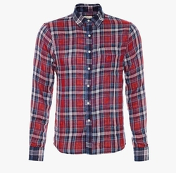 Slim Fit Single Pocket Shirt by Joe's Jeans in Animal Kingdom