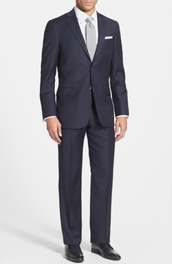 'New York' Classic Fit Wool Suit by Hart Schaffner Marx in Arrow
