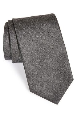 Woven Silk Tie by Yves Saint Laurent in Fifty Shades of Grey