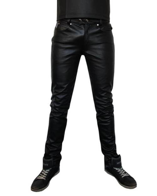 Motorbiker Leather Pants by Bockle in Point Break