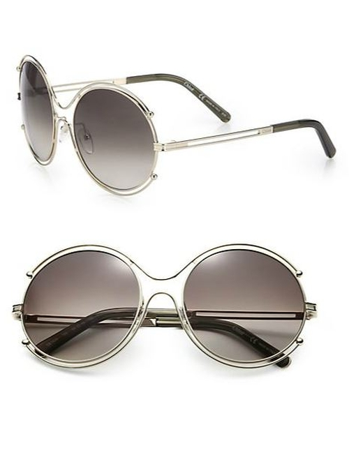 Isadora Round Sunglasses by Chloé in American Horror Story - Season 5 Episode 9