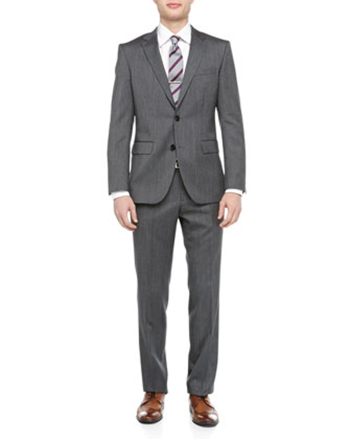 Grand Central Pindot Two-Piece Suit by Hugo Boss in Fight Club