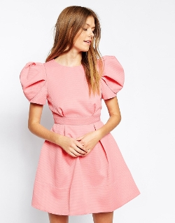 Dolly Puff Sleeve Dress by Ukulele in Paper Towns