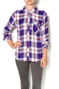 Sherry Hunter Top by Rails in Rosewood
