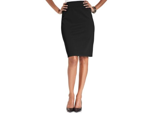 Pull-On Ponte-Knit Pencil Skirt by Style & Co. in The Secret Life of Walter Mitty
