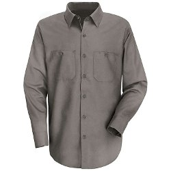 Men's Long Sleeve Work Shirt by Red Kap in McFarland, USA