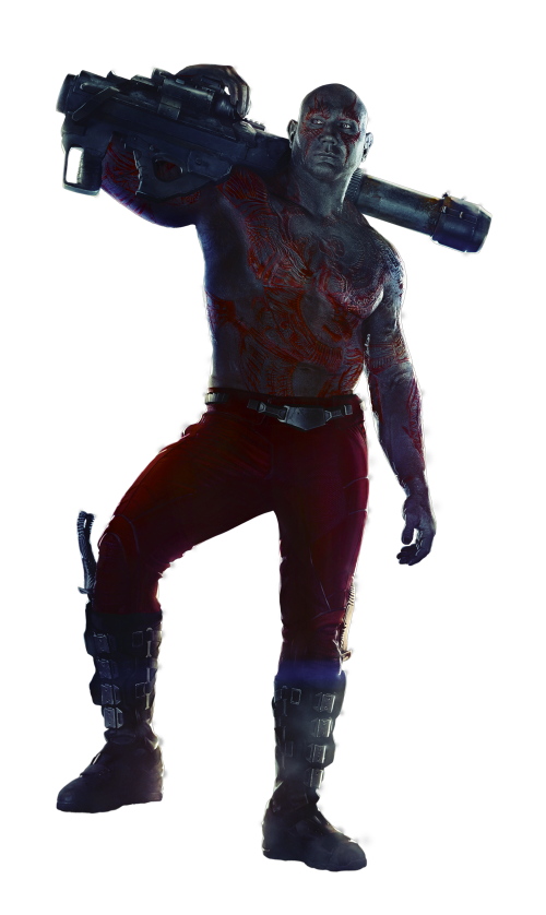 Custom Made Drax the Destroyer Costume by Alexandra Byrne (Costume Designer) in Guardians of the Galaxy