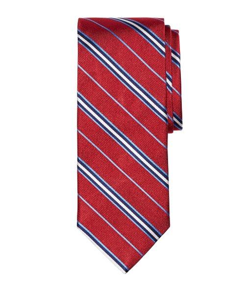 Framed Split Stripe Tie by Brooks Brothers in Get Hard