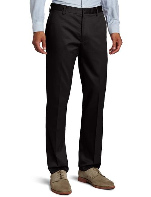 Men's City Khaki Slim Tapered Flat Front Pant by Dockers in Tammy