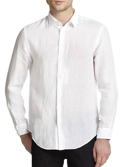 Linen Sportshirt by Armani Collezioni in The Second Best Exotic Marigold Hotel