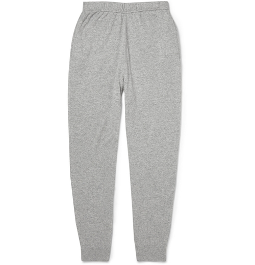 Regular-Fit Cashmere Sweatpants by Sunspel in Knock Knock