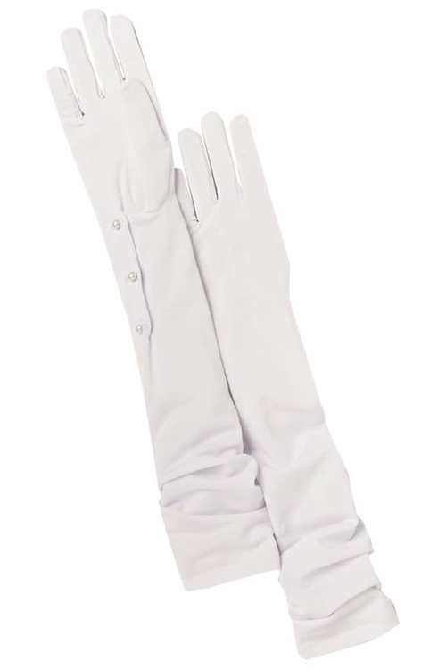 Opera Length Gloves by David's Bridal in Confessions of a Shopaholic