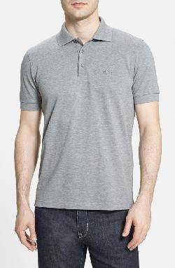 'Ferrara' Comfort Fit Piqué Polo by BOSS in Vampire Academy