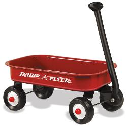 Little Red Wagon by Radio Flyer in Man of Steel
