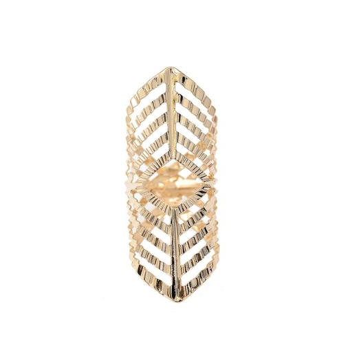 Geometric Wide Band Fashion Ring by Spinningdaisy  in Suicide Squad