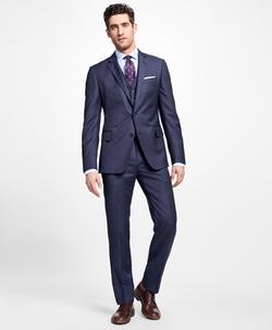Regent Fit Three-Piece Slim Stripe 1818 Suit by Brooks Brothers in Designated Survivor