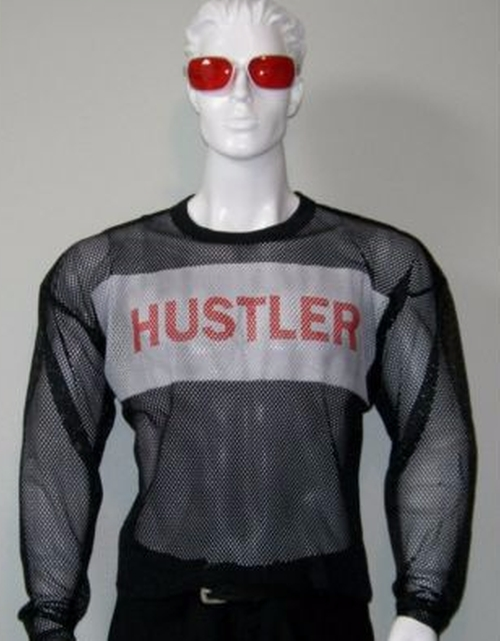 Mesh Jersey Polyester Project Mayhem Shirt by Hustler in Fight Club
