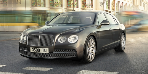 Flying Spur Sedan by Bentley in Empire - Season 2 Episode 2