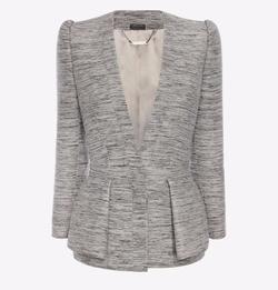 Fold Peplum Jacket by Alexander McQueen in Suits
