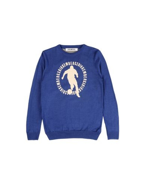 Round Collar Sweater by Bikkembergs in Elf