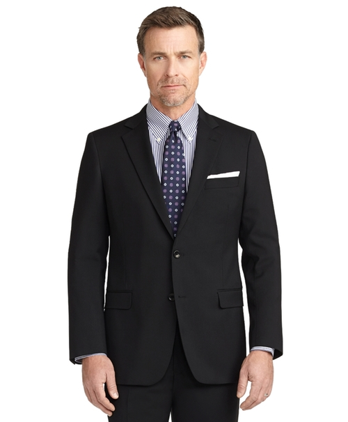 Fitzgerald Fit Two-Button 1818 Suit by Brooks Brothers in Demolition