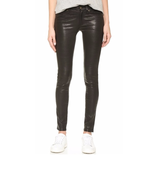 The Leather Skinny Pants by Rag & Bone/JEAN in The Bachelorette
