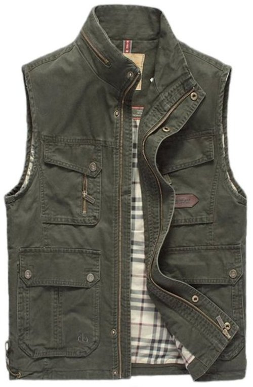 Outdoors Casual Military Vest by Mrignt in Wild